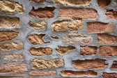 Old Italian brick work — Stock Photo
