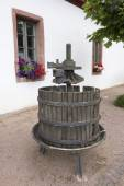 Old german Wine Press — Stock fotografie
