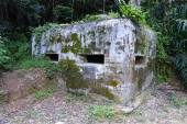 Old WWII military pillbox — Stock Photo
