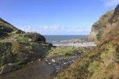 Heddons Mouth north Devon — Foto de Stock