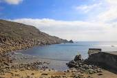Lamorna Cove Cornwall — Stock Photo