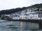 Bayard's Cove Dartmouth Devon — Stock Photo