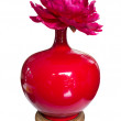 Chinese Red Vase — Stock Photo #63934741