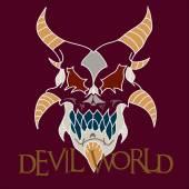 Devil world — Stock Vector
