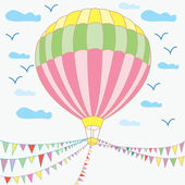 Luftballon — Stockvektor