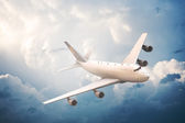 Airliner In The Sky — Stock Photo