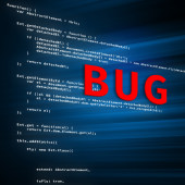 Bug In The Code — Stock Photo