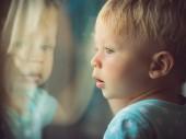 Through The Window — Stock Photo