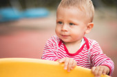 Toddler Playing — Stock Photo