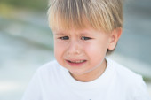 Toddler Crying — Stock Photo