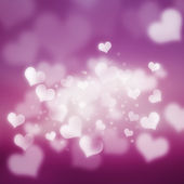 Glowing Hearts — ストック写真