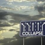 Постер, плакат: Sign o the Times Collapse