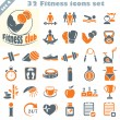 Fitness icons set (4) — Stock Vector #67219385