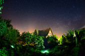 Starlight night — Stock Photo