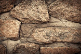 Wall. Natural granite stone texture background. Rough and rusty. — Foto de Stock
