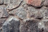 Parede. Fundo de textura de pedra de granito natural. Áspero e rusty — Fotografia Stock