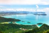 Aerial view of Langkawi island, Malaysia — Stock Photo
