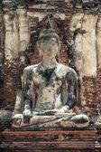 Buddha statue, Autthaya, Thailand. — Stock Photo