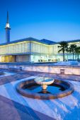 Malaysian National Mosque ( Masjid Negara ), Kuala Lumpur — Stock Photo