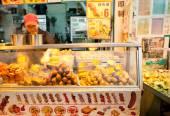 Food vendor on the street of Kowloon — Foto de Stock
