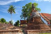 Wat Phra Si Sanphet ruins, Ayutthaya — Stock Photo