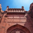 Architecture of the Red Fort in Delhi, India — Stock Photo #67875471