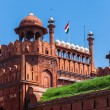 Architecture of the Red Fort in Delhi, India — Stock Photo #67875521