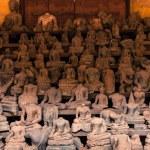 Headless Buddha statues at Wat Si Saket, Laos — Stock Photo #68091237