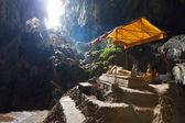 Tham Phu Kham cave, Vang Vieng, Laos — Stock Photo