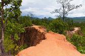 Pai Canyon, Mae Hong Son Province, Thailand. — Stock Photo