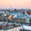 Sunset view over center of Moscow, Russia — Stock Photo #71721819