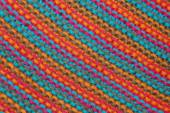 Knitted multicolored texture — Stock Photo