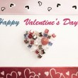 Valentine's Day Greeting Card — Stock Photo #62902713