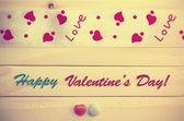 Valentinstag-Grußkarte — Stockfoto