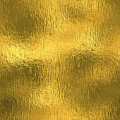 Golden Foil luxury seamless and tileable background texture. Glittering holiday wrinkled gold background and shiny bright metal surface backdrop. — Stock Photo