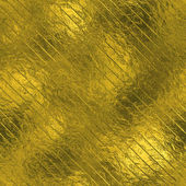 Golden Foil luxury seamless and tileable background texture. Glittering holiday wrinkled gold background and shiny bright metal surface backdrop. — Стоковое фото