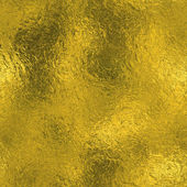 Golden Foil Seamless and Tileable Luxury background texture. Glittering holiday wrinkled gold background and shiny bright metal surface backdrop. — Stock Photo