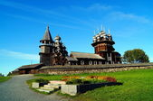Wooden Architecture in Kizhi — Stock Photo