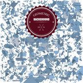 Triangle geometric detonate background. Vector Illustration EPS10 — Stock Vector