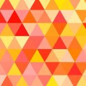 三角形と抽象的な幾何学的な背景. — ストックベクタ