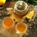 Green tea in cups — Stock Photo #63088151
