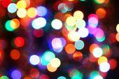Bokeh ljus bakgrund — Stockfoto