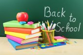 Back to school supplies. — Stock Photo