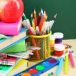 Back to school supplies — Stock Photo #63090365