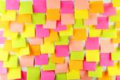 Many colorful stickers — Stock Photo
