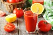 Jugo de tomate fresco — Foto de Stock