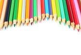 Карандаши цветные деревянные — Стоковое фото