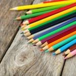 Colour wooden pencils — Stock Photo #68233457