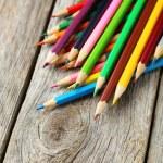 Colour wooden pencils — Stock Photo #68233801