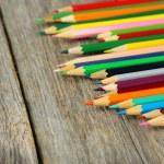 Colour wooden pencils — Stock Photo #68234095
